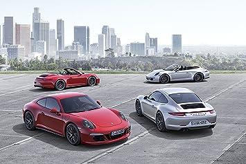 Porsche 911 (991) Carrera GTS (2014) Car Art Poster Print on 10