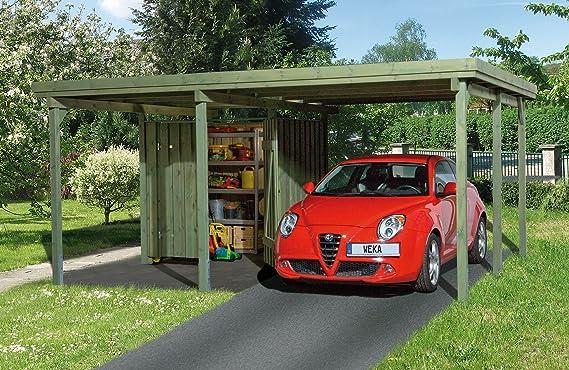 Weka 000 Atelier - Marquesina para coches (512 x 416 cm): Amazon ...