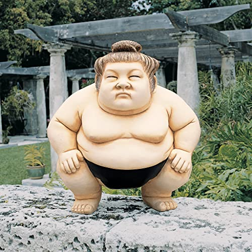 Design Toscano Basho The Sumo Wrestler Statue Size: Large