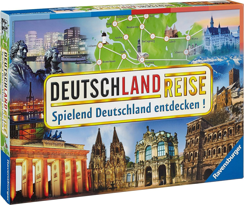 Ravensburger Deutschlandreise Viajes/Aventuras - Juego de Tablero (Viajes/Aventuras, 45 min, Niño/niña, 8 año(s), 99 año(s)): Amazon.es: Juguetes y juegos