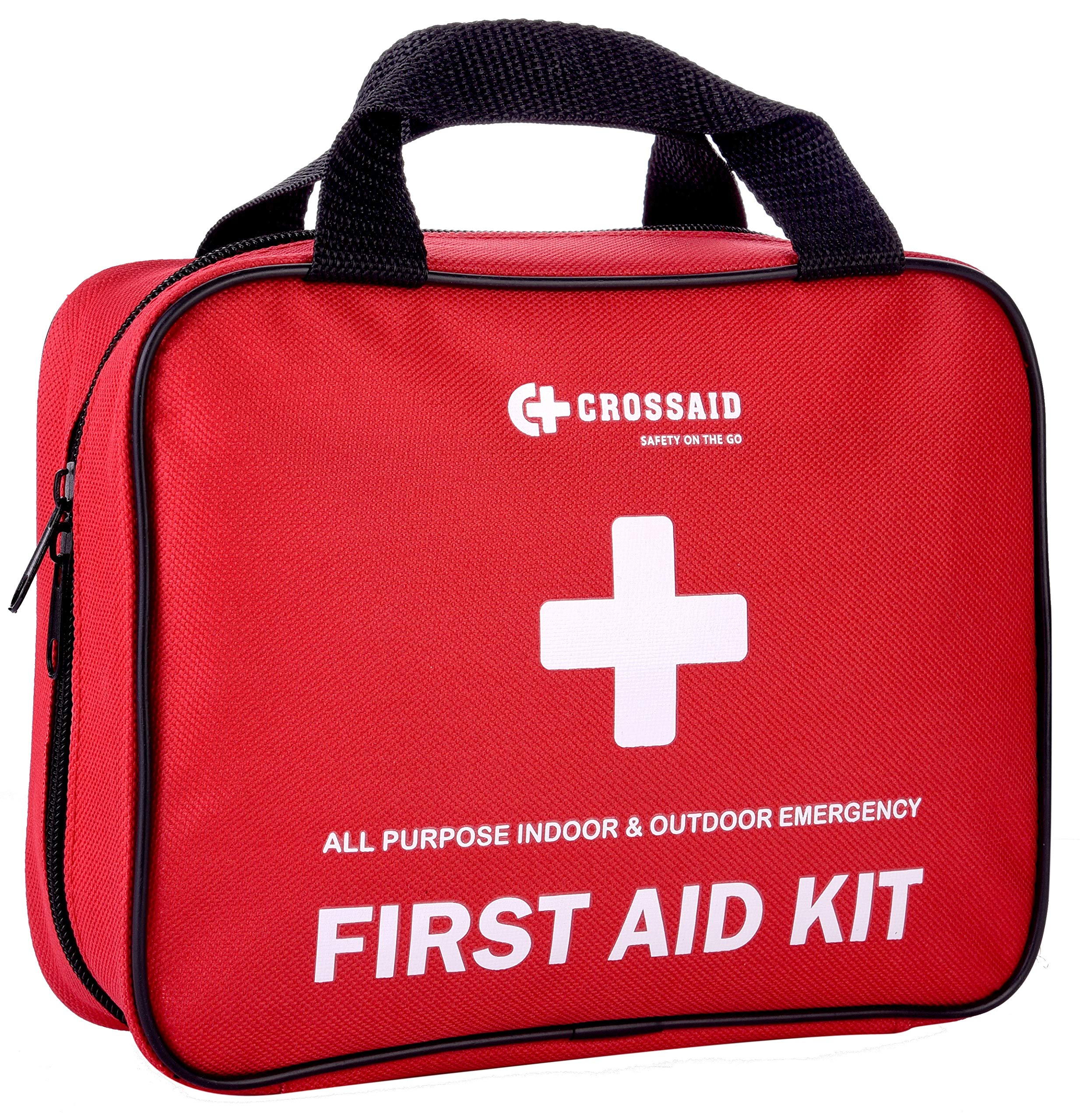 Emergency Survival First Aid Kit - 160 Pcs – Emergency kit Medical Supplies – for Car, Travel, Home, Camping, Daycare - Bonus Survival Gear + 46 pc Mini Traveling First Aid Kit