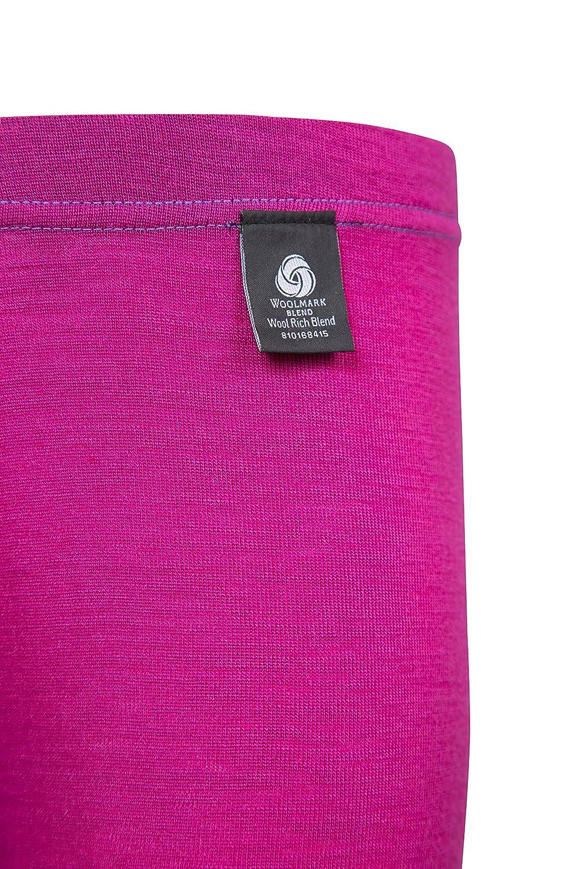 Pantaloni Leggeri Facili trasportare Breathable Parti Inferiori dei Bambini antibatterici Mountain Warehouse Il Merino Scherza i Pantaloni Termici di Baselayer