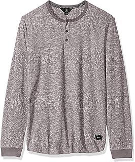 cac0cf8a Amazon.com: Volcom Men's Layer Stone Long Sleeve Modern Knit Henley ...