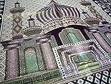 AmnMat HDI Muslim Prayer Mat Lightweight Thin
