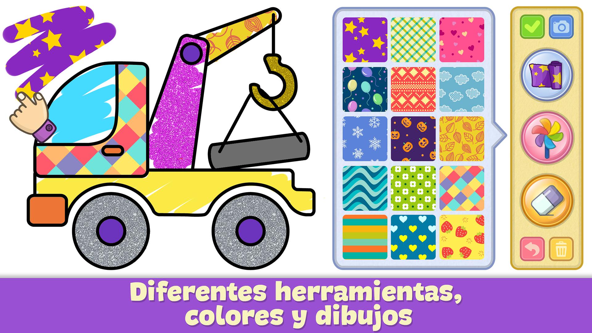 Libro para dibujar y colorear para niños: Amazon.es
