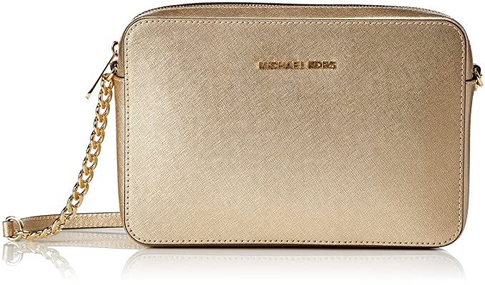 81ad98761f6e Michael Kors Womens Crossbodies Cross-Body Bag Gold (Gold): Amazon ...