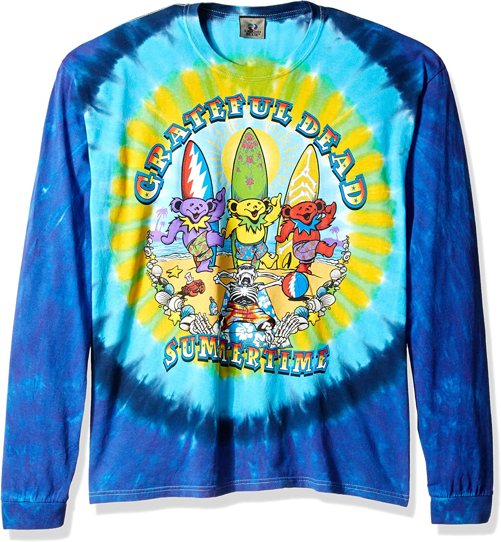 Liquid Blue Men's Beach Bear Bingo Long Sleeve T-Shirt