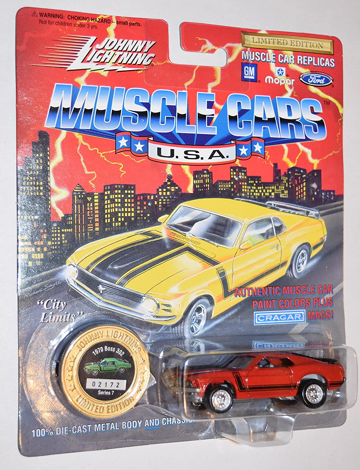 Amazon Com Johnny Lightning Muscle Cars U S A Limited Edition Red