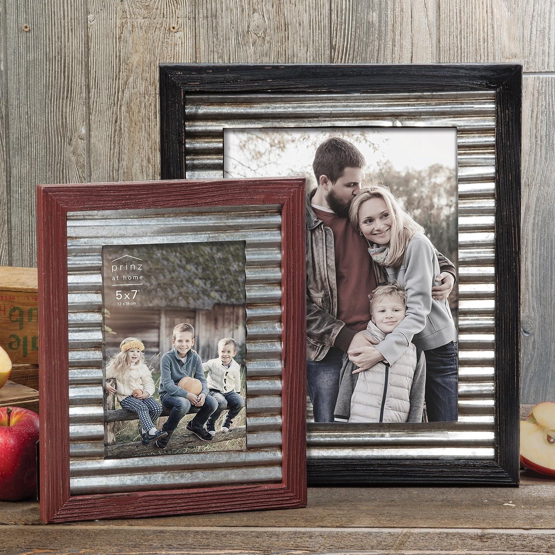Amazon prinz 8x10 galvanized corrugate garden frame home amazon prinz 8x10 galvanized corrugate garden frame home kitchen jeuxipadfo Images