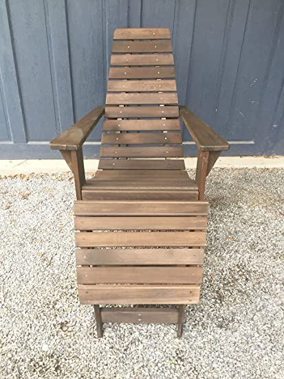 Superb Cedar Wood Adirondack Chair, Amish Made Outdoor Chairs, Weather Resistant  Wooden Patio Deck And