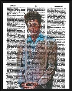 Seinfeld Cosmo Kramer photo vintage dictionary art print the Kramer 8x10