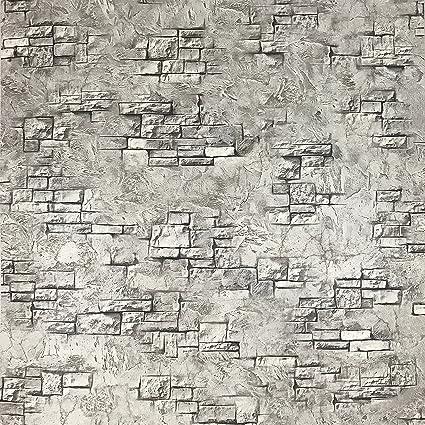 Amazon Com Slavyanski Vinyl Wallpaper Gray Coverings Textured