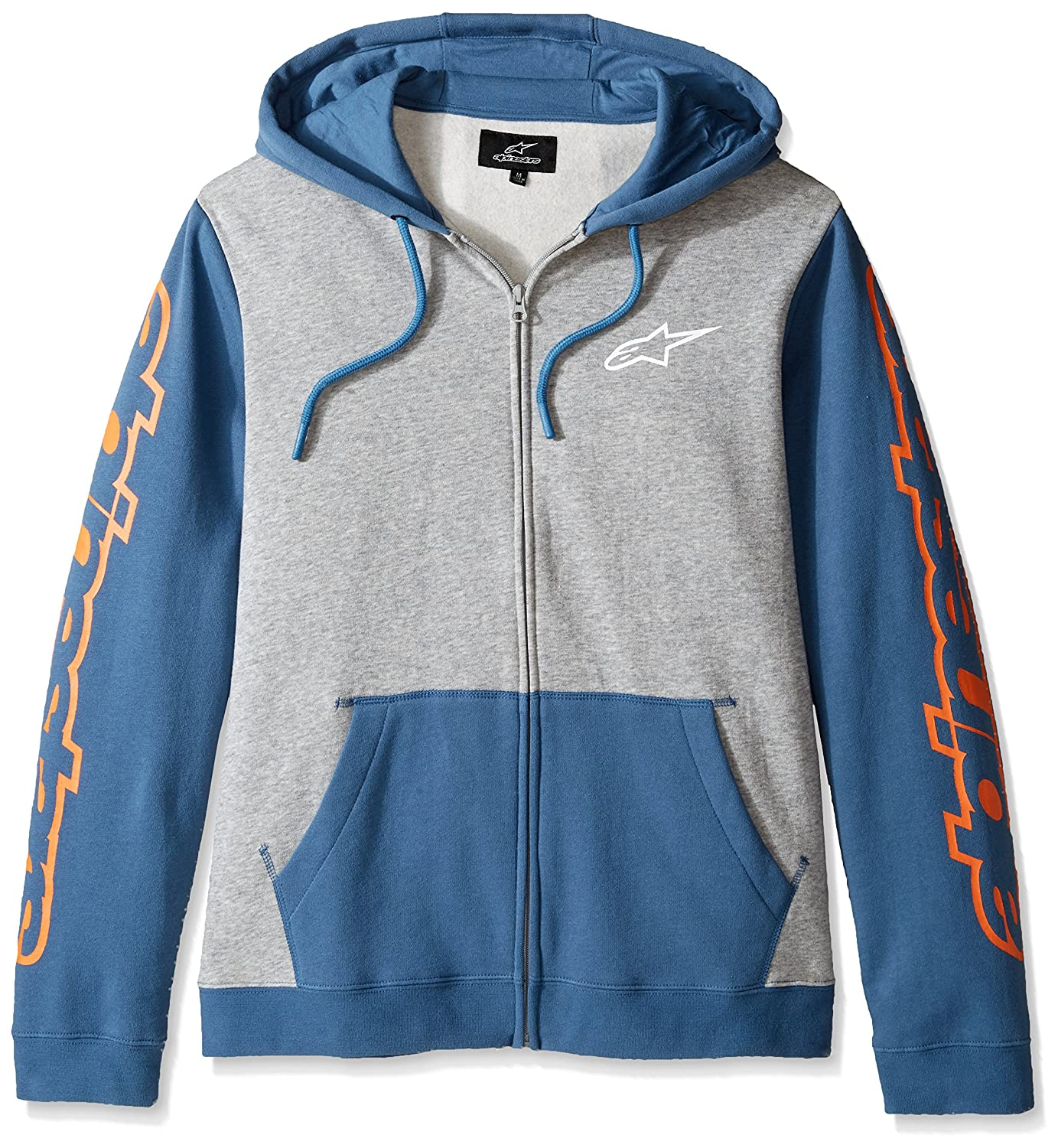 Alpinestars SWEATER メンズ B01M1BEKCR L|Grey Heather/Blue Grey Heather/Blue L