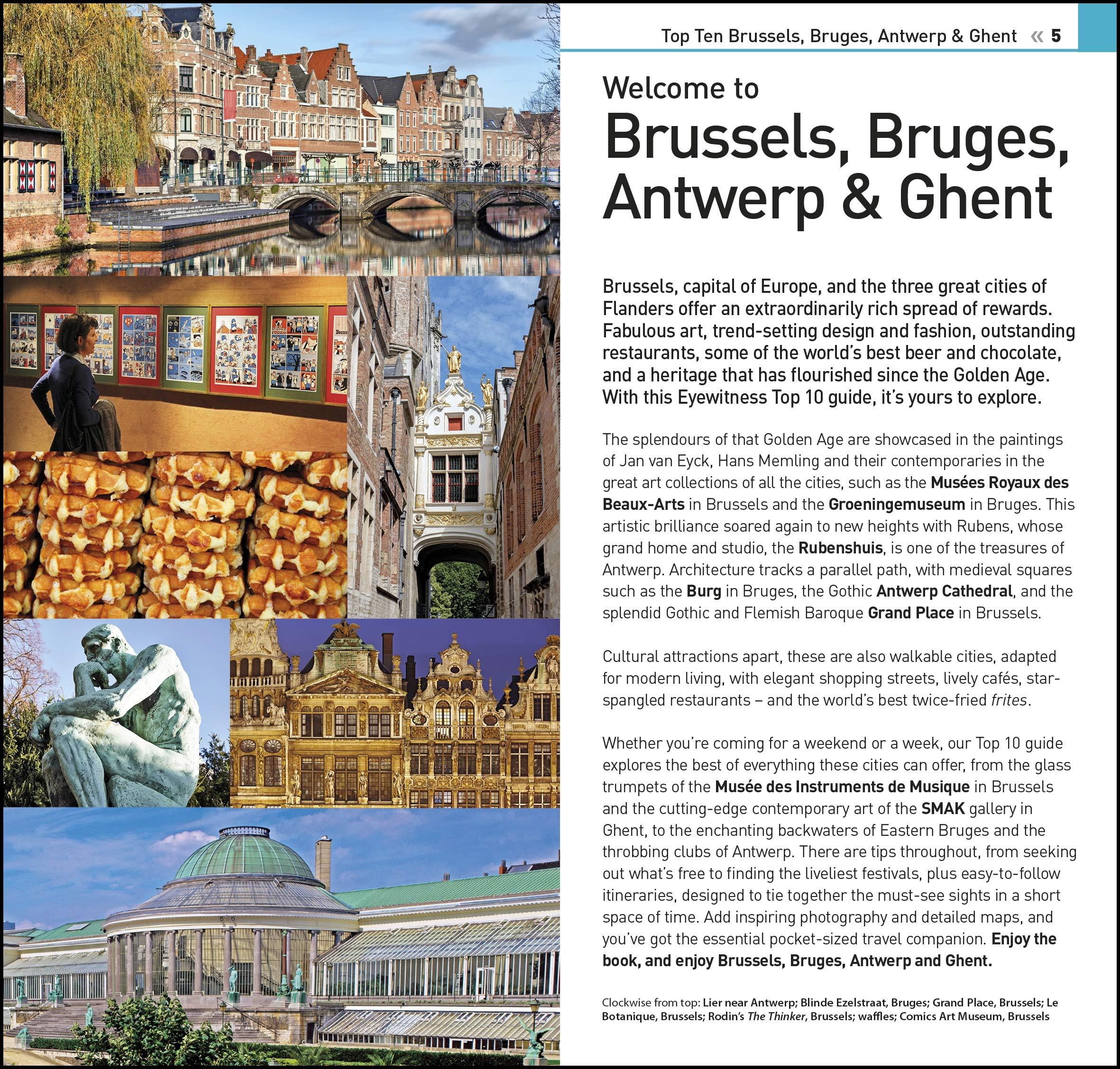 Top 10 Brussels, Bruges, Antwerp and Ghent DK Eyewitness Travel ...