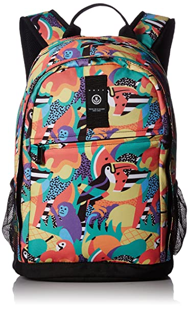 Amazon.com: neff Mens Daily XL Affordable Backpack, tropical jungle One Size: Clothing