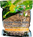 Galapagos (05054) Cypress Tank Mulch Forest Floor Bedding, 8-Quart, Natural