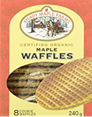 Shady Maple Farms Organic Stroopwafel Cookies-Maple, 240G