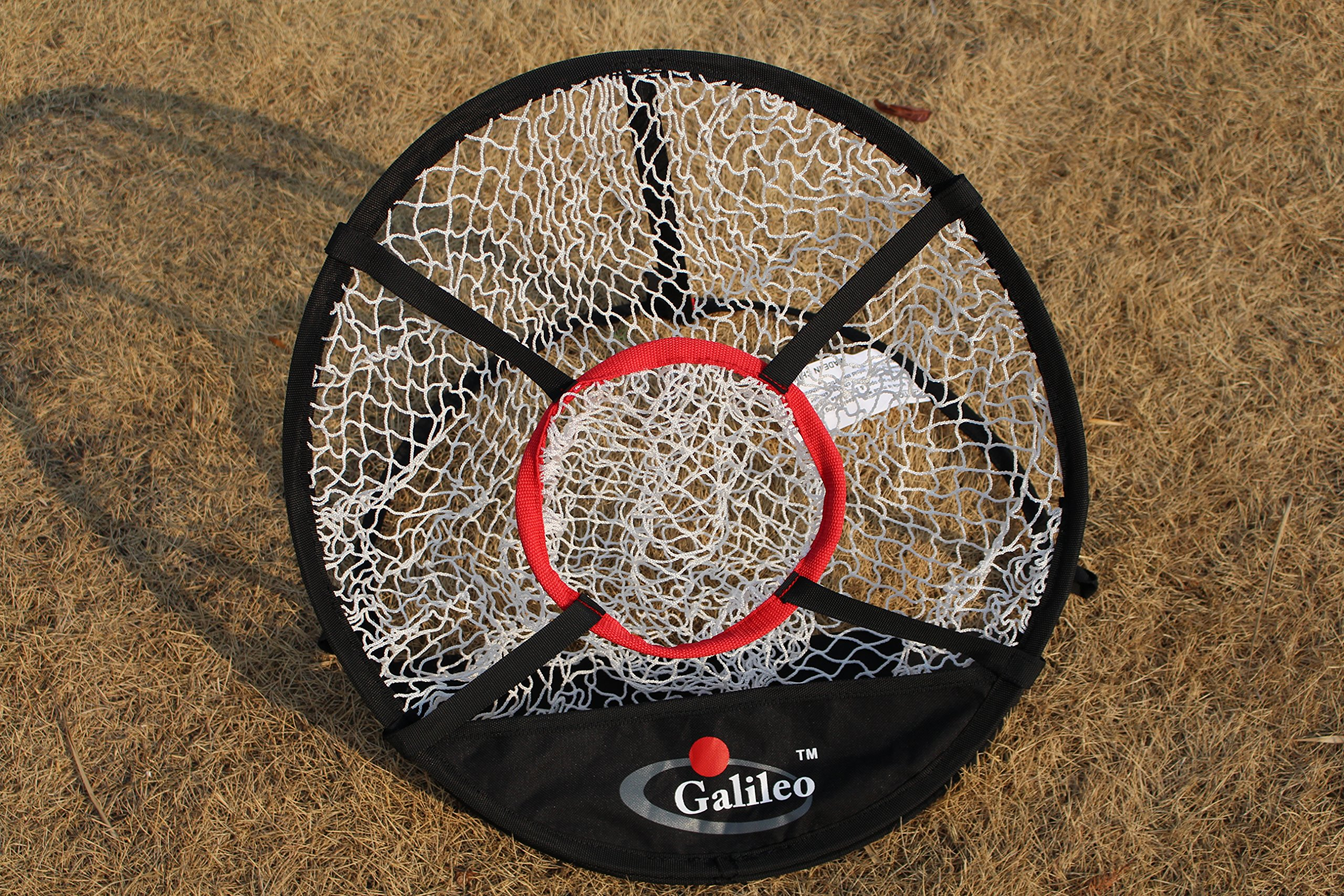 Golf net with Target net Diameter 50cm ' Pop Up Golf Chipping Net   Outdoor & Indoor Golfing Target Accessories and Backyard Practice Swing Game by Galileo (Image #2)