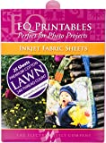 EQ Printables: 25 Inkjet COTTON LAWN Fabric Sheets