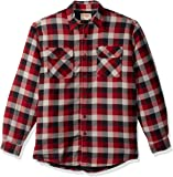 Wrangler Men's Authentics Long Sleeve Quilted Lined Flannel Shirt