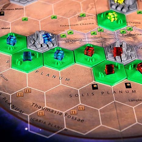 The Broken Token - Azulejos 3D para Terraforming Mars (10): Amazon ...
