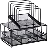 AmazonBasics Single Drawer Mesh Desk File Organizer