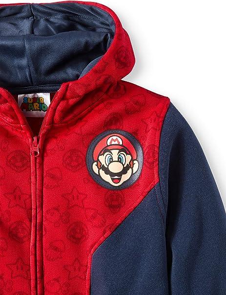 Super mario Wario Mushroom Bowser Kids Boy Girls Sweatshirt Hoodie Coat Pant Set