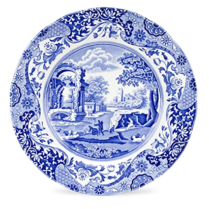 Blue And White Dinner Plate Set