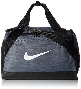 Nike Nk Brsla XS Duff Bolsa de Deporte, Hombre, Gris (Flint Grey/Black/White), Talla Única: Amazon.es: Deportes y aire libre