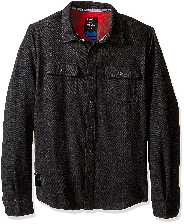 KAVU Mens Shirt Franklin-Stormy KAVU-Outdoors 5047