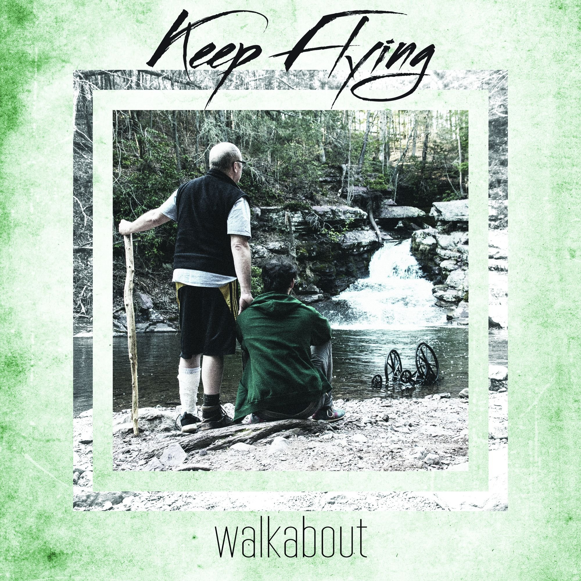 Vinilo : Keep Flying - Walkabout /  Follow Your Nightmares (LP Vinyl)