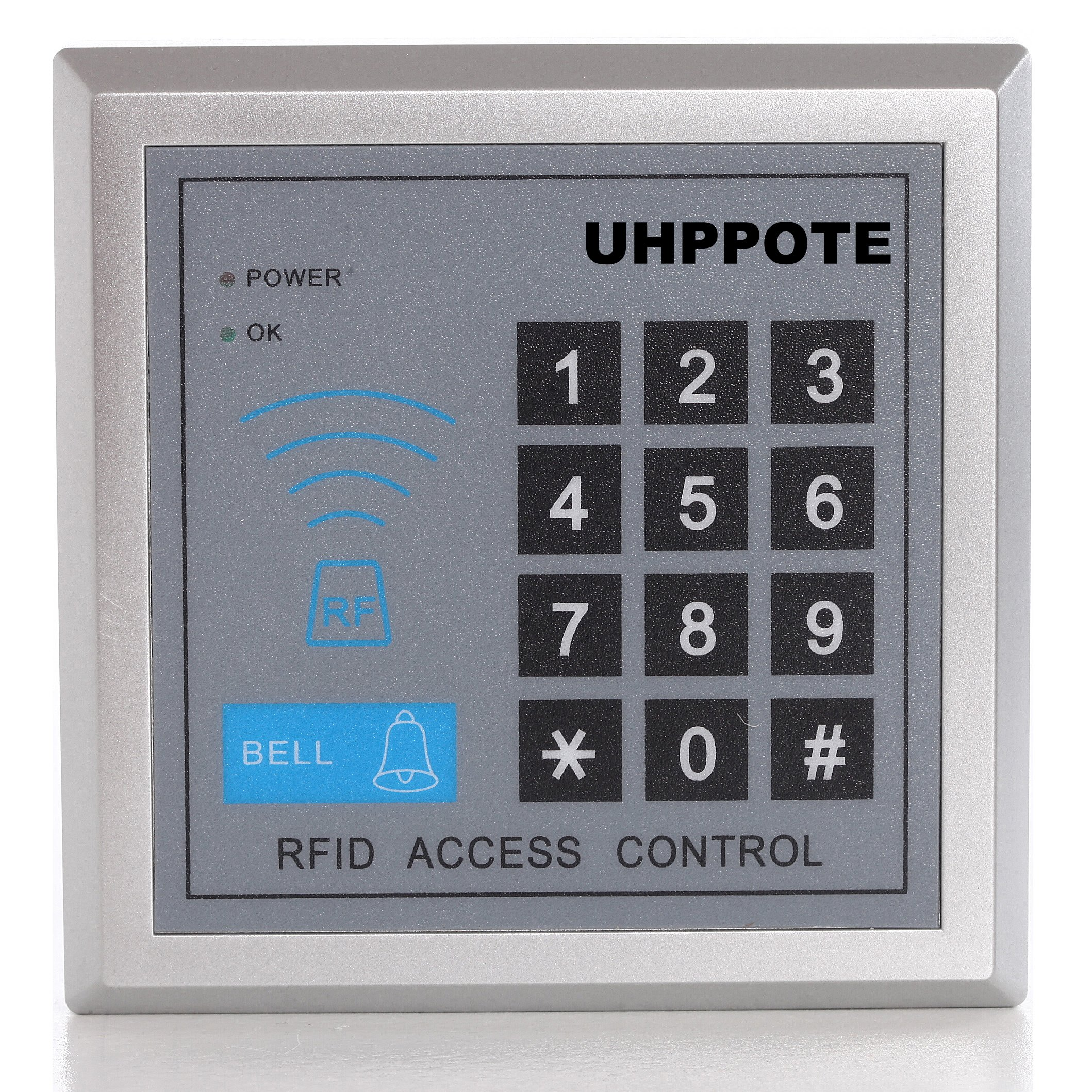 UHPPOTE 125KHz RFID ID Access Control Stand Alone Single Door System With Keypad Support 500 User