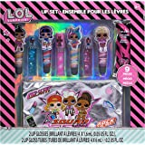 Townley Girl L.O.L. Surprise! Makeup Set with 8 Flavored Lip Glosses for Girls with 1 Surprise Lip Gloss Color and…