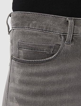 ONLY NOS damskie dżinsy Skinny Onlroyal Reg SK Dnm BJ312 Noos, szare (ciemnoszare Denim), XL/L34: Odzież