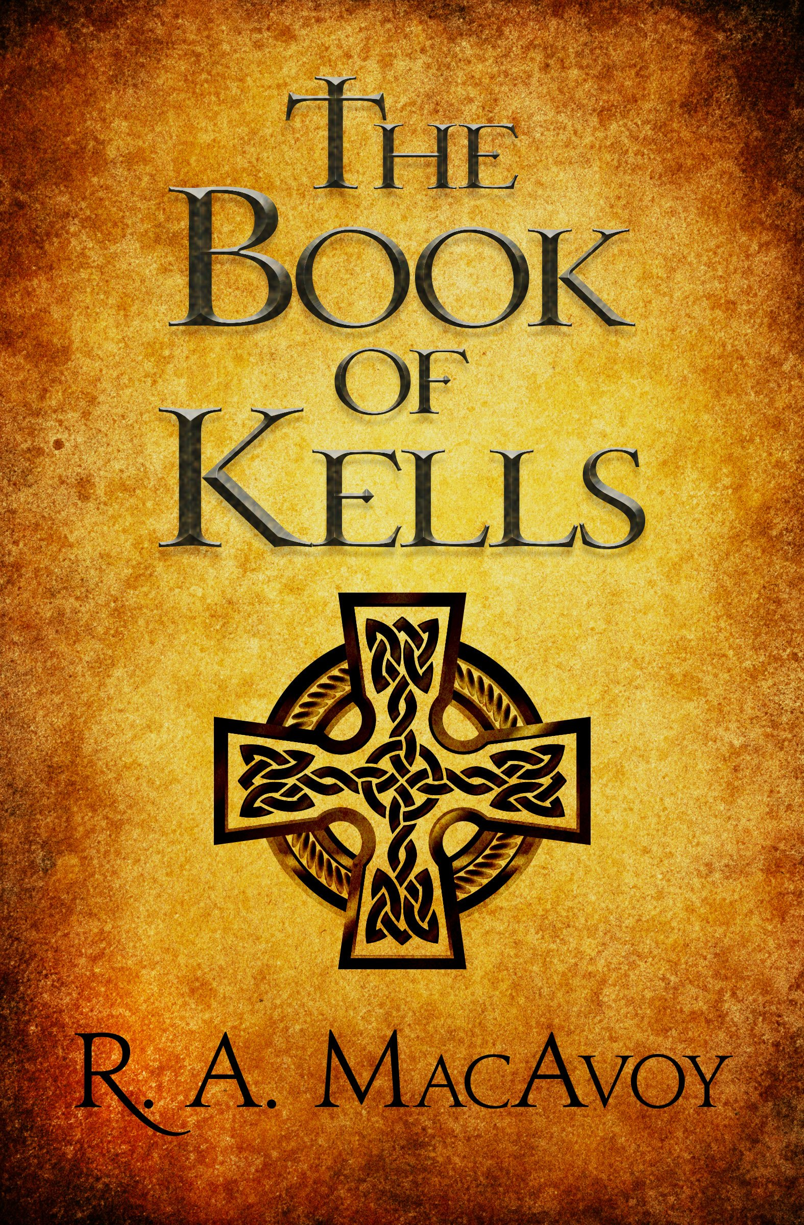 Amazon The Book Of Kells 9781497642225 R A Macavoy Books