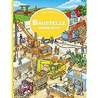 Baustelle Wimmelbuch: Kinderbücher ab 3 Jahre (Bilderbuch ab 2-4)