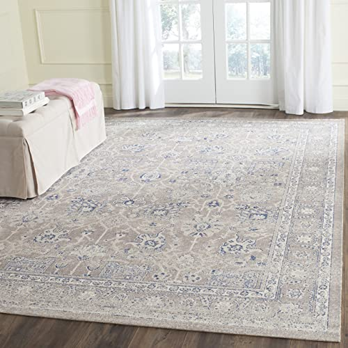 Safavieh Patina Collection PTN326H Taupe Cotton Area Rug 4 x 6
