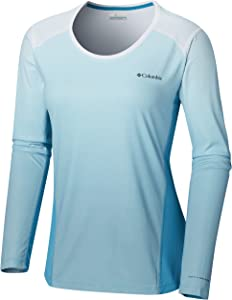 Columbia Women's Solar Chill 2.0 Long Sleeve Shirt, UV Sun Protection, Moisture Wicking