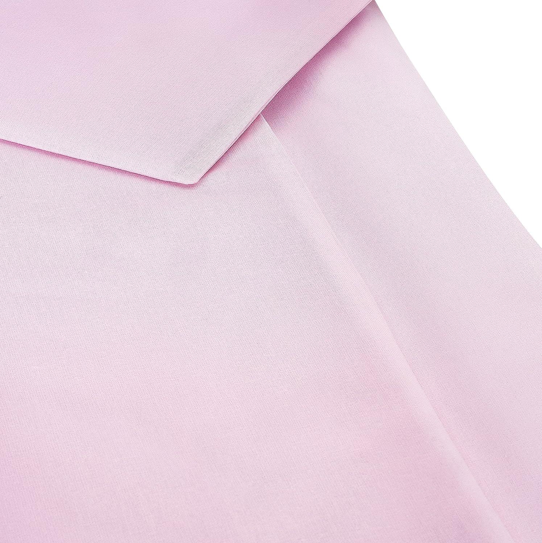 Couffin Parure de Lit B/éb/é 80x80 cm // 35x40 cm Lot 2 pi/èces Housse de Couette Enfant et Taie d/'Oreiller en 100/% Coton Pour Berceau Nacelle Rose