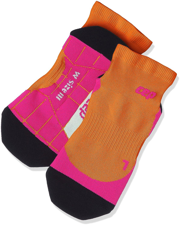 CEP Womens Dynamic Low Cut Socks Sunset//Pink