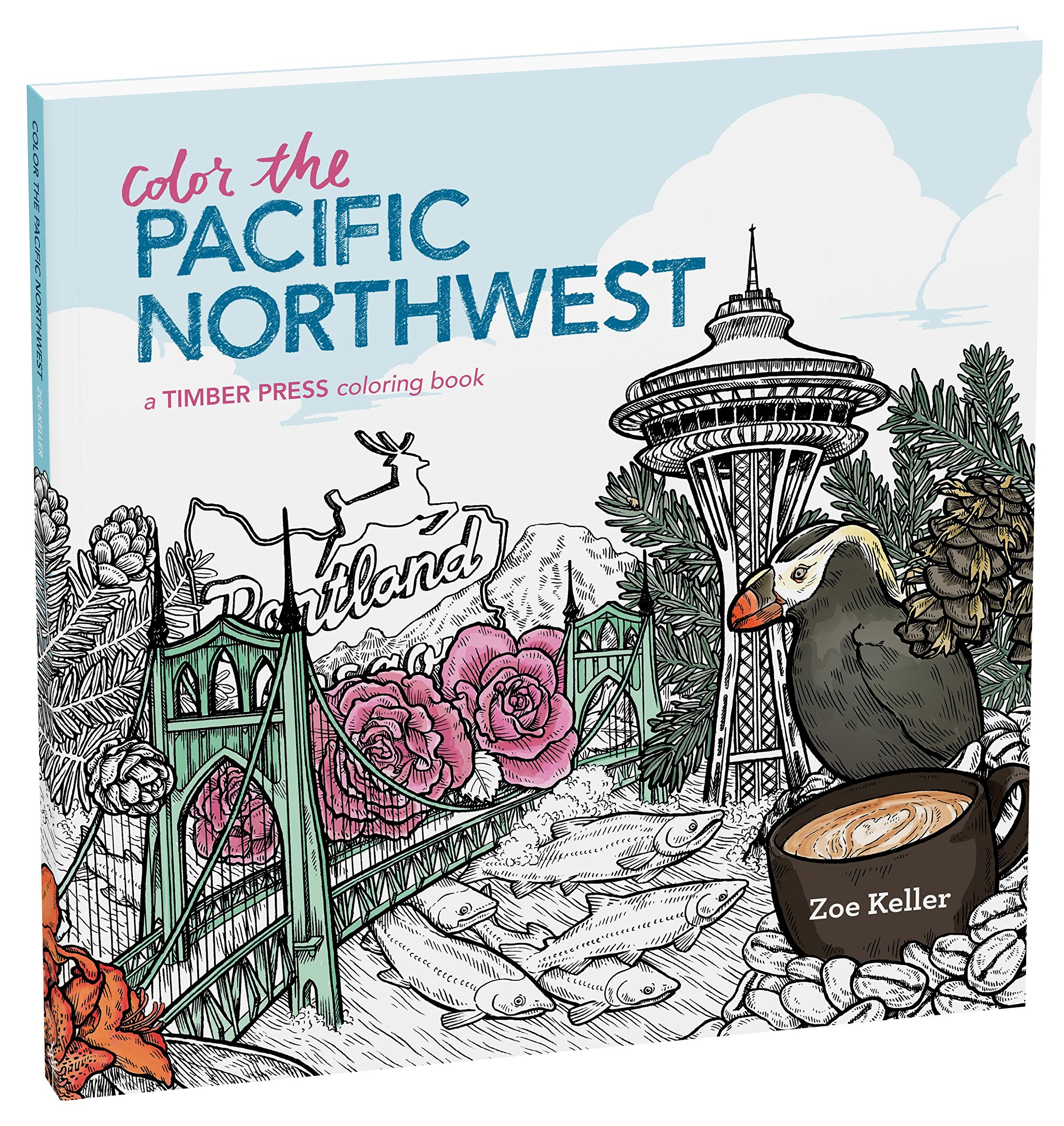 Download Color the Natural World: A Timber Press Coloring Book pdf epub