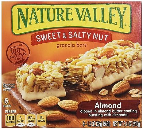 Nature Valley – Sweet & Salty Tuerca Granola Bars – Almendra ...