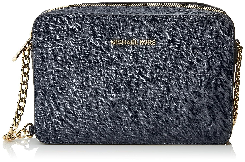 6c523e2c7 Michael Kors Crossbodies, Bolso Bandolera para Mujer, Azul (Admiral),  1.9x10.2x22.9 cm (W x H x L): Amazon.es: Zapatos y complementos