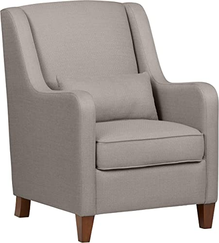 Amazon Brand Ravenna Home Radford Modern Curved Accent Chair