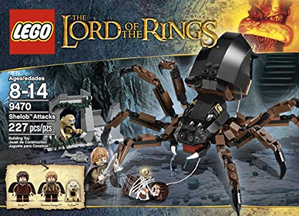 Amazoncom Lego The Lord Of The Rings Hobbit Shelob Attacks 9470