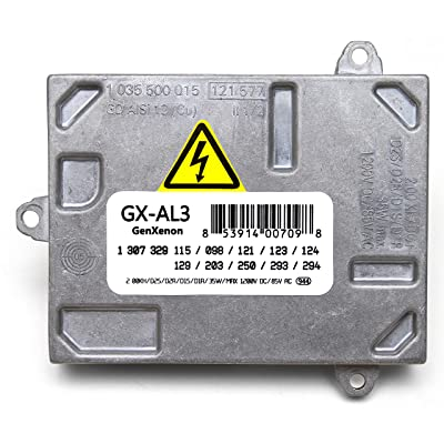 Replacement Xenon HID Ballast for Cadillac DTS, Audi A4 S4, Saab 9-7x, Volvo Headlight Control Unit Module Replaces 307 329 115, 307 329 098: Automotive