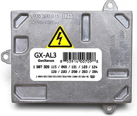 Mini Cadillac avec AL 307/329/153/et 307/329/193/Phare unit/é de contr/ôle module Audi Xenon HID Ballast de remplacement pour BMW