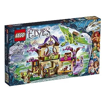 Amazon.com: LEGO Elves The Secret Market Place 41176: Toys & Games