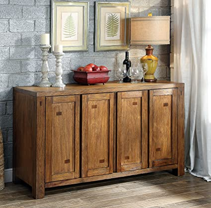 Furniture Of America Maynard Wooden Dining Buffet Server