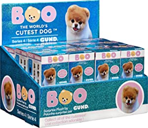 GUND Boo World's Cutest Dog Boo Blind Box Series #4 Snacks Surprise Mystery Plush, 2.75